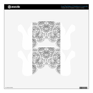 Pattern Mandala Decal For PS3 Controller