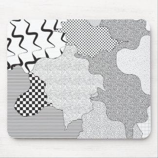 Pattern Mash-up Mousepad