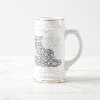 Pattern Mash-Up Stein Mugs