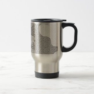 Pattern Mash-Up Travel Mug
