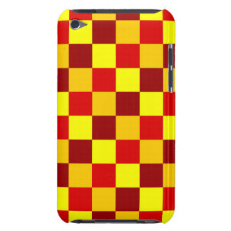 PATTERN ME THIS! (red - yellow squares) ~ iPod Touch Cover
