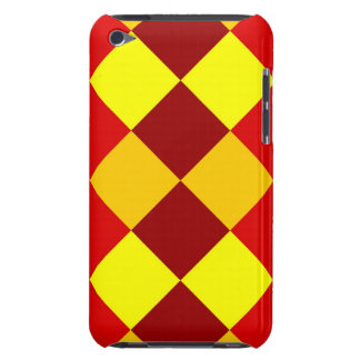 PATTERN ME THIS! (red - yellow squares) ~ Barely There iPod Cover