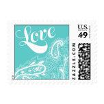 Pattern - Mehndi Love - Blue Stamps