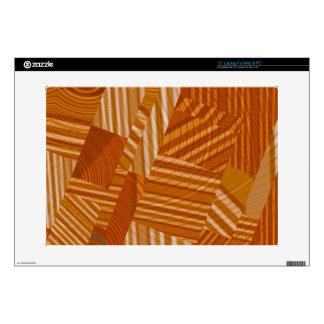 pattern mix, orange decals for laptops