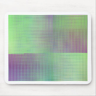 pattern mix soft green designed by Tutti Mouse Pad