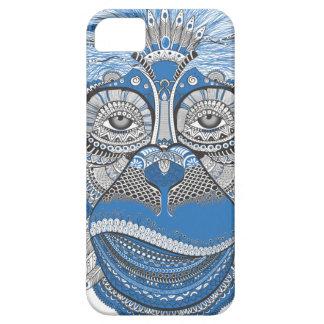pattern monkey new year s eve iPhone SE/5/5s case