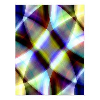 Pattern multicolored Design by Tutti Postcard