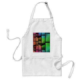 Pattern multicolored no. 1 created by Tutti Adult Apron