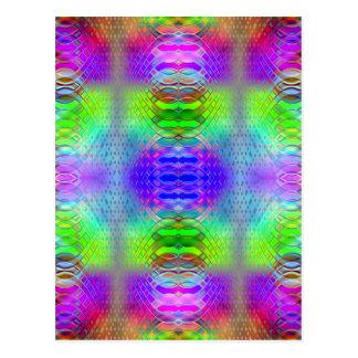 Pattern multicolored no. 23 designed by Tutti Postcard
