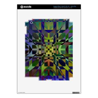 Pattern multicolored no. 28 designed by Tutti iPad 3 Skin
