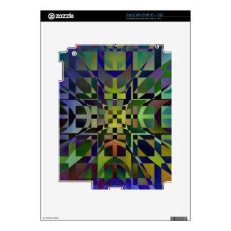 Pattern multicolored no 28 designed by Tutti iPad 2 Decal