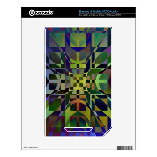 Pattern multicolored no 28 designed by Tutti NOOK Color Decals