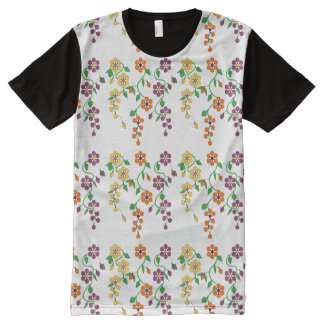 Pattern NO.2: Hanging Flower All-Over Print Tee