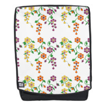 Pattern NO.2: Hanging Flowers Back Pack