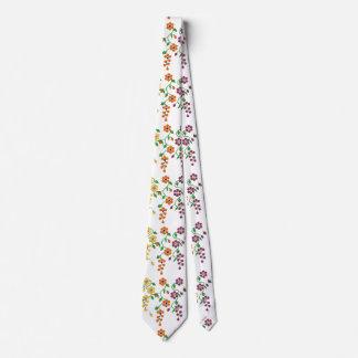 Pattern NO.2: Hanging Flowers Print Tie