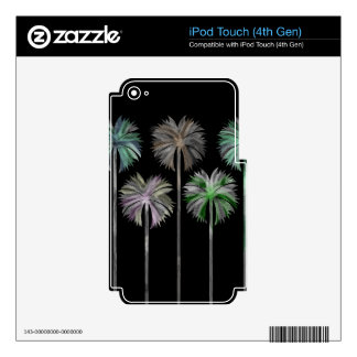 Pattern O iPod Touch 4G Decals