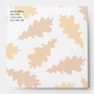 Pattern of Autumn Leaves. Envelopes