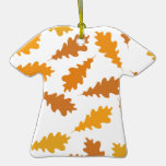 Pattern of Autumn Leaves. Ornaments