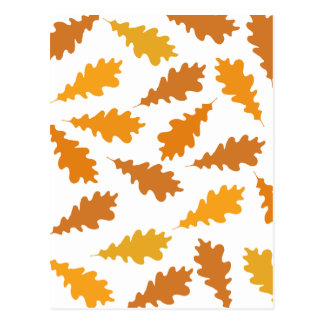 Pattern of Autumn Leaves. Post Card