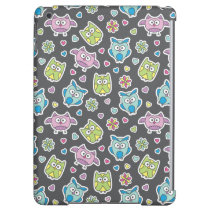 pattern of cartoon owls iPad air cover