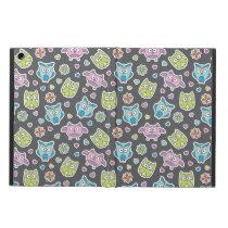 pattern of cartoon owls iPad air covers