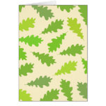 Pattern of Green Leaves. Cards