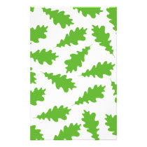 Pattern of Green Leaves. Flyer