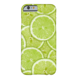 Pattern Of Green Lime Slices Barely There iPhone 6 Case