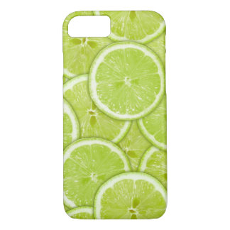 Pattern Of Green Lime Slices iPhone 7 Case