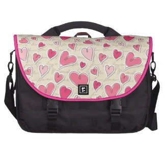 Pattern of Hearts Computer Bag