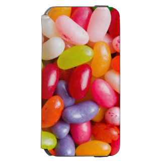 Pattern of jelly beans iPhone 6/6s wallet case