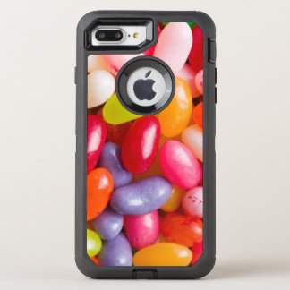 Pattern of jelly beans OtterBox defender iPhone 8 plus/7 plus case