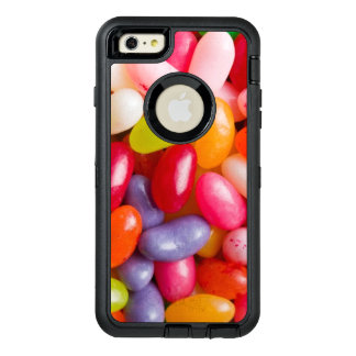 Pattern of jelly beans OtterBox defender iPhone case