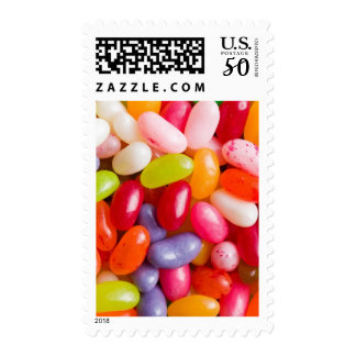 Pattern of jelly beans postage