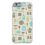 Pattern Of Kitchen Tools Barely There iPhone 6 Case