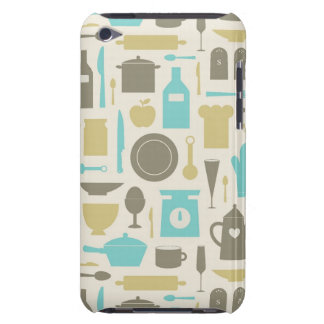 Pattern Of Kitchen Tools Barely There iPod Cover