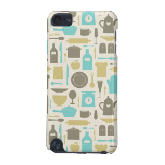 Pattern Of Kitchen Tools iPod Touch (5th Generation) Cover