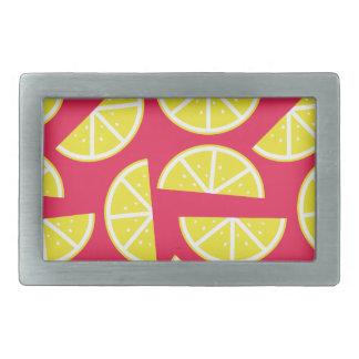 pattern of lemon belt buckle