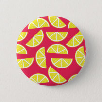 pattern of lemon button