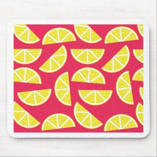 pattern of lemon mouse pad