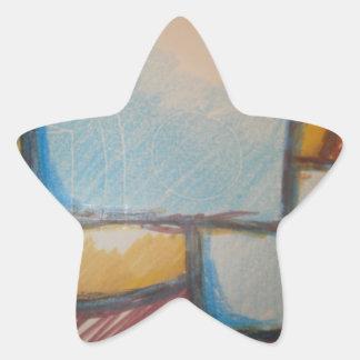 Pattern of Life Star Sticker
