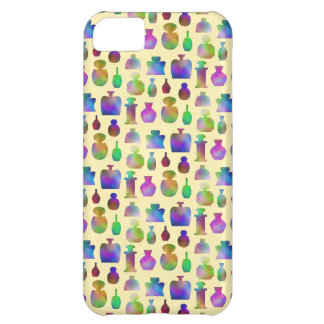 Pattern of Many Colorful Perfume Bottles. iPhone 5C Cover