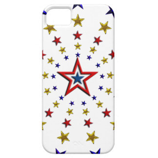 Pattern of Patriotic Stars iPhone SE/5/5s Case
