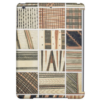 Pattern of Polynesian tapa from Cook's iPad Air Cover