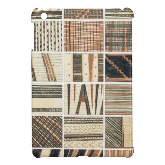 Pattern of Polynesian tapa from Cook's iPad Mini Cases