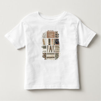 Pattern of Polynesian tapa from Cook's Toddler T-shirt