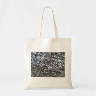 Pattern of Seamless Rock Texture Canvas Bag