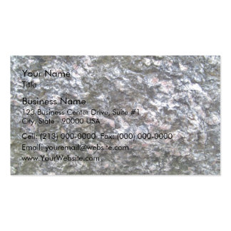 Pattern of Seamless Rock Texture Business Card Template