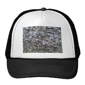 Pattern of Seamless Rock Texture Mesh Hat