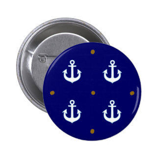 pattern of small white anchors button
